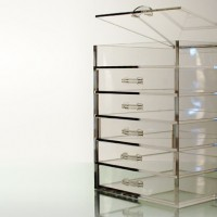 The Five Drawer Clear Cube